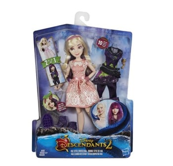 Disney Princess Descendants DD D2 Isle Style Switch Mal Doll