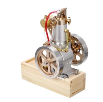 Eachine ETX Hit & Miss Gas Vertical Engine Stirling Engine Model Upgraded Version Water Cooling Cycle Engine Collection