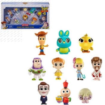Mini Figure Toy Story 4 Minis Ultimate New Friends 10-Pack