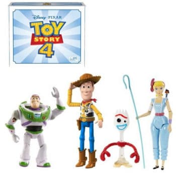Disney Pixar Toy Story 4 Adventure Multi-Figure 4-Pack, 9.3""