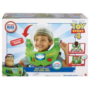 Disney Pixar Toy Story 4 Buzz Lightyear Space Armor 3-In-1 Pack