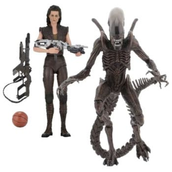 Alien Resurrection Series 14 Ripley & Alien Warrior 2 Figures