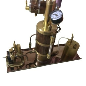New Model Boiler Marine Steam Engine Kit Gift
