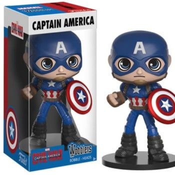 Wobblers Figure Captain America - Captain America 3 Movie Civil War