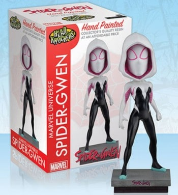 Head Knockers Spider Gwen Classic Masked figure