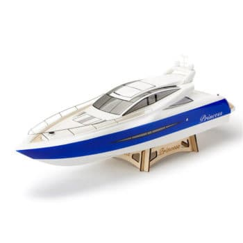 TFL 1105 Princess 960mm 2.4G Glass Fiber Hull Electric Rc Boat W/O Servo Transmitter Battery Charger