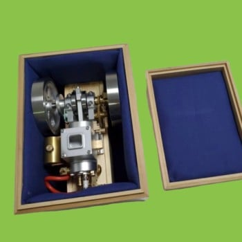 Woddern Box For Engine Miss Steam Et1+Et2+Et3+Et5 For Gift
