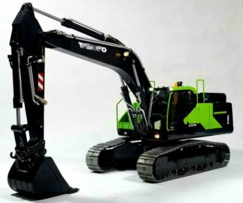1/14 RC remote control metal hydraulic excavator 5Ways Valves E380 Collectible 5 valves High Quality