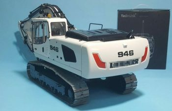 1/14 RC Remote Control Metal Hydraulic Excavator Model-946 Collectible Toy Gift 5 ways