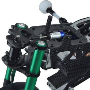FIJON FJ913 1/5 Carbon Fiber Competition Motorcycle Frame Black