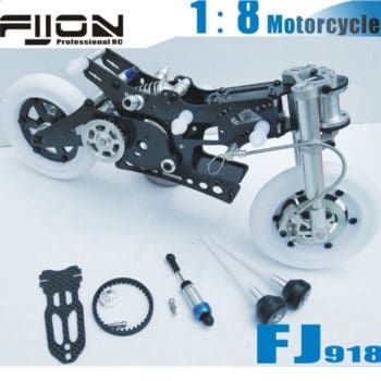 FIJON FJ918 1/8 Carbon Fiber Competition Motorcycle Frame