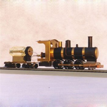 Steam Train Model Locomotive Drive HO Proportion Live Scale 1:36 Beauty DPX-1.0