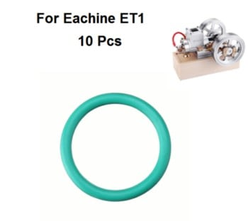 Eachine ET1 10Pcs Rubber Piston Fluorogel Rubber Rings 22mm*1mm O Ring Parts