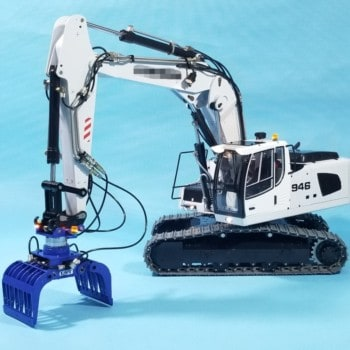 1/14 RC Remote Control Hydraulic Excavator Metal Model 946-3-Boom Adjustable