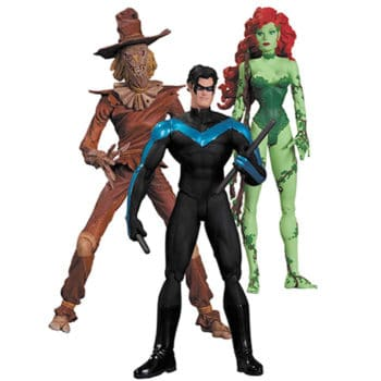 Batman Hush Action Figure,Scarecrow/Nightwing/Poison Ivy 3-Pack