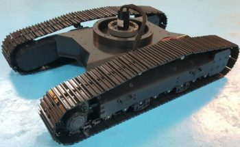 Hydraulic excavator model chassis crawler chassis