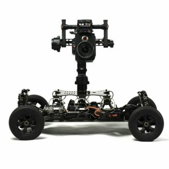 New Model Es5 Electric 8s 4-Drive 1/5 Remote Control Shooting Vehicle Support DJI