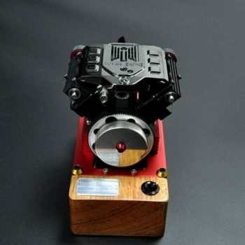 Four-Stroke Methanol Engine FS-V400 Birthday Gift For V4 Toyan Engine