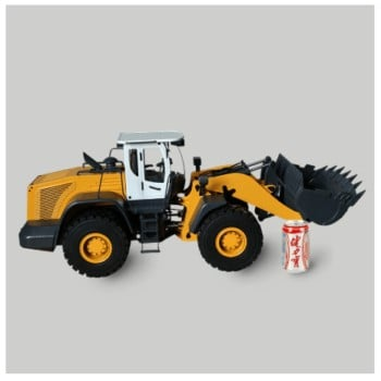 1:14 Remote Control Fluid Excavator Press Loader Model Remote Control Hydraulic