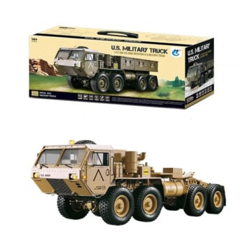 Toyan 1:12 8x8 R/C 2.4G High Horse Horsepower Methanol Gas Powered Military Truck Off-road Vehicle