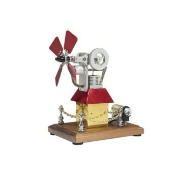TEM High Speed Stirling Engine Windmill Fan Propeller External Combustion Engine