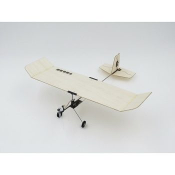 Tygzs M1 Wingspan 232mm 4CH DSM2 Ultra Light Indoor Mini RC Airplane BNF With 3.