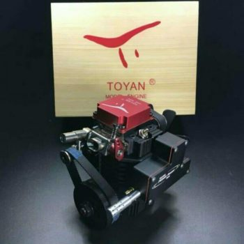 Toyan FS-S100G 4 Stroke RC Engine Methanol Model Kit for RC Car Boat Airplane