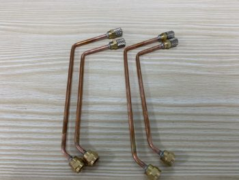 Excavator Model Forearm Copper Tubing Hydraulic Quick-Connect Tubing Forearm