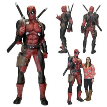 1 Scale Deadpool Figure 1