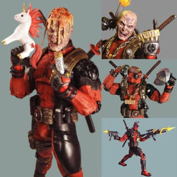 deadpool 1/4 scale action figure