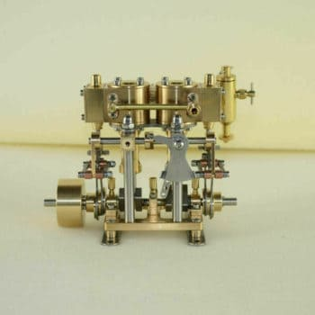 New Two Cylinder Reciprocating Steam Engine Model Birthday Steam Engine Model