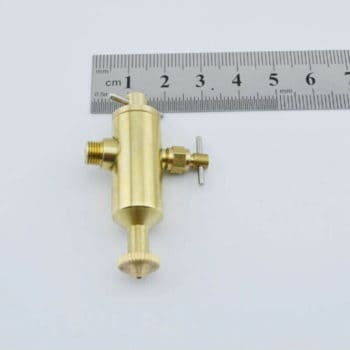 Microcosm steam engine model lubrication cup