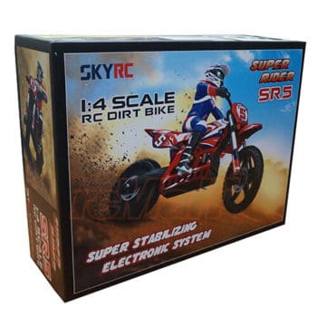 SKYRC Super Rider SR5 1:4 Dirt Bike EP RC Motorcycle Brushless RTR #SK-700001