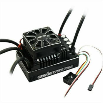 ZTW Beast Pro 300A Full Waterproof ESC 6-12S Lipo W/ Double Fan for 1/5 Buggy Truck Rc Car Parts