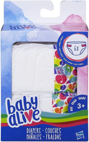 Baby Alive Diapers 1