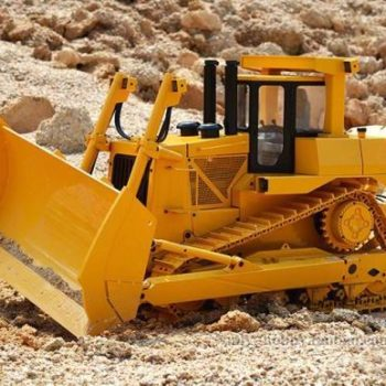 1/14 RC Hydraulic Bulldozer Loader Yellow