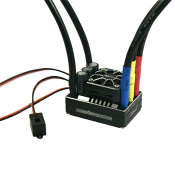 ZTW 1/8 Beast Pro 220A Brushless ESC Full Aluminum Case Waterproof w/ 6V/7.4V Adjustable 8A BEC