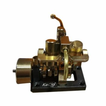 New Model 2020 Mini Inline Double-cylinder Swing Steam Engine Metal Model
