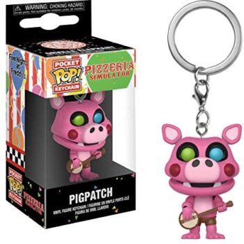 Pocket Pop Keychain pigpatch 2