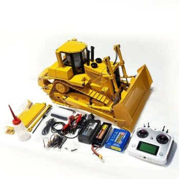 1/14 All-metal Remote Control Hydraulic Bulldozer Model Sound Kit Wheel Loader+Sound