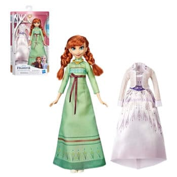 Extra Fashion frozen 2 Anna doll 1
