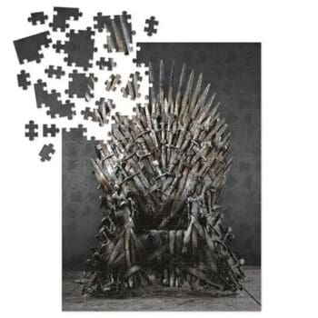 Game Of Thrones Iron Throne Puzzle 1