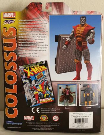 MARVEL SELECT COLOSSUS ACTION FIGURE-1